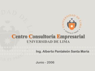 C entro  C onsultoría  E mpresarial UNIVERSIDAD DE LIMA