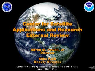 Center for Satellite Applications and Research External Review