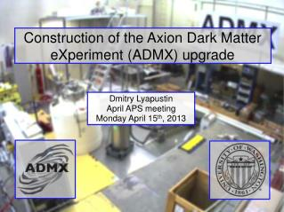 Construction of the  Axion  Dark Matter  eXperiment  (ADMX) upgrade