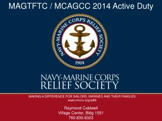 MAKING A DIFFERENCE FOR SAILORS, MARINES AND THEIR FAMILIES nmcrs/adfd