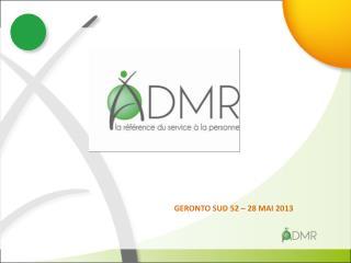 GERONTO SUD 52 – 28 MAI 2013