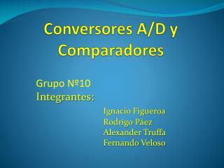 Conversores A/D y Comparadores