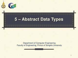 5 � Abstract Data Types