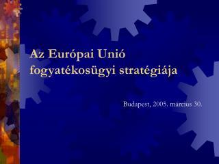 Az Európai Unió fogyatékosügyi stratégiája