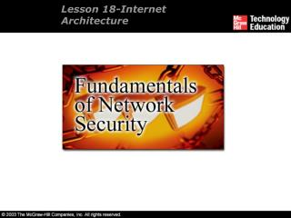 Lesson 18-Internet Architecture