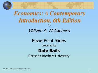 Economics: A Contemporary Introduction