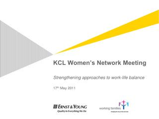 KCL Women's Network Meeting