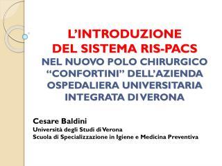 Cesare Baldini Universit� degli Studi di Verona