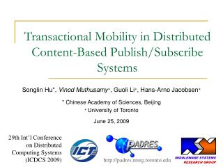 Transactional Mobility in Distributed Content-Based Publish/Subscribe Systems