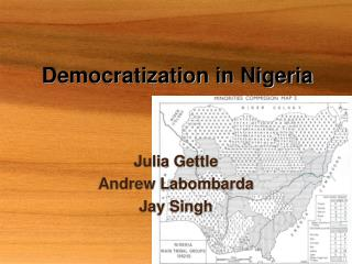 Democratization in Nigeria