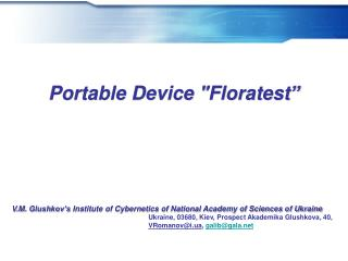 Portable Device