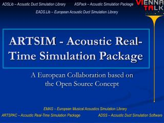 ARTSIM - Acoustic Real-Time Simulation Package