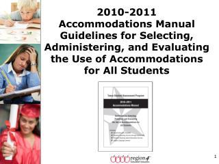 Accommodations Manual