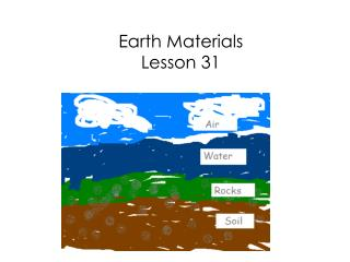 Earth Materials Lesson 31