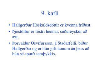 9. kafli