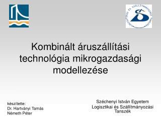 Kombinált áruszállítási technológia mikrogazdasági modellezése