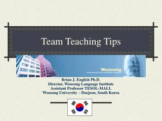 Team Teaching Tips