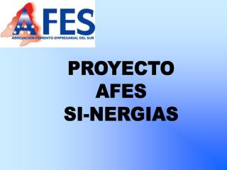 PROYECTO AFES SI-NERGIAS