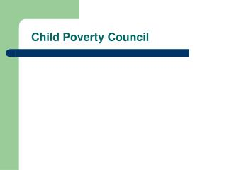 Child Poverty Council