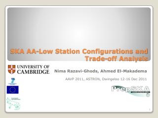 SKA AA-Low Station Configurations and Trade-off Analysis