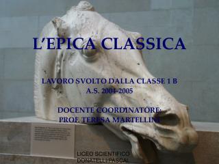 L�EPICA CLASSICA