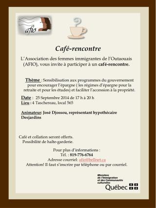 Café-rencontre