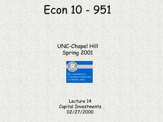 Econ 10 - 951