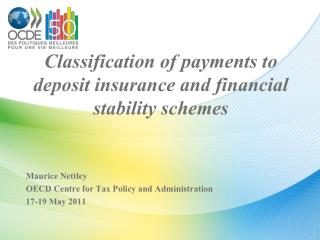 Classification of payments to deposit insurance and financial stability schemes