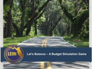 Let's Balance – A Budget Simulation Game