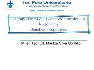 La importancia de la educación musical en los jóvenes Beneficios cognitivos