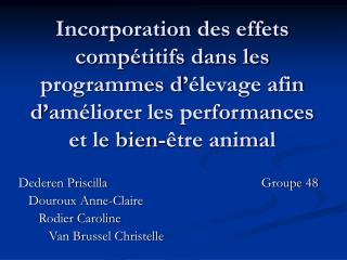 Dederen PriscillaGroupe 48    Douroux Anne-Claire       Rodier Caroline