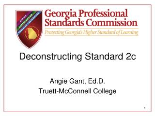 Deconstructing Standard 2c