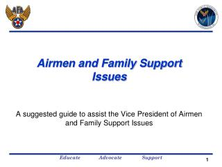 Airmen and Family Support Issues