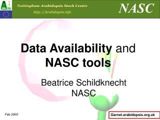 Beatrice Schildknecht NASC
