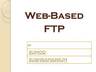 Web-Based FTP