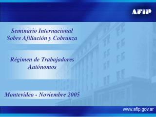 Montevideo - Noviembre 2005