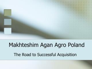 Makhteshim  Agan Agro Poland