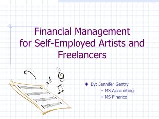 Financial Management         for Self-Employed Artists and Freelancers