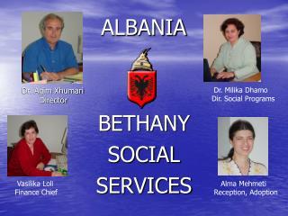 BETHANY  SOCIAL SERVICES