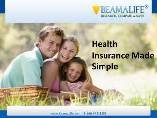 Health Insurance Made Simple