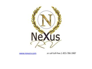 Used RVs for sale at NeXus RV