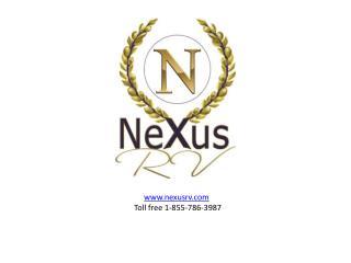 New Class C Motorhomes at NeXus RV