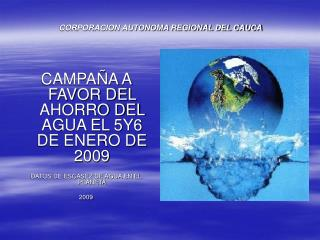 CORPORACION AUTONOMA REGIONAL DEL CAUCA