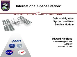 International Space Station:
