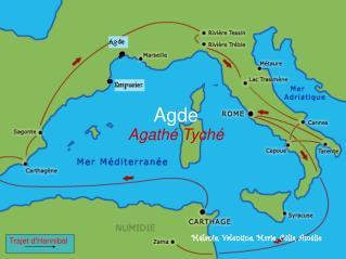 Agde Agathé Tyché