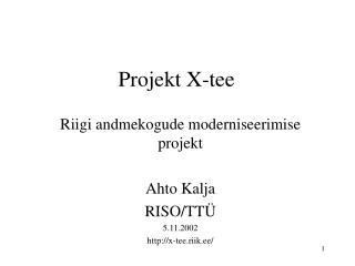 Projekt X-tee