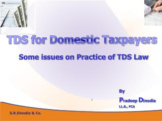 TDS for Domestic Taxpayers