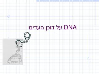 DNA  על דוכן העדים