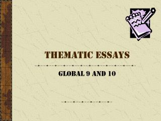 Thematic Essays