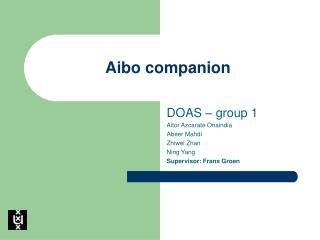 Aibo companion